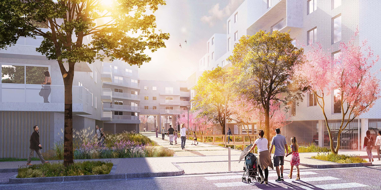 Nouveau Quartier A Lormont Pres De Bordeaux Aaupc Iconomade